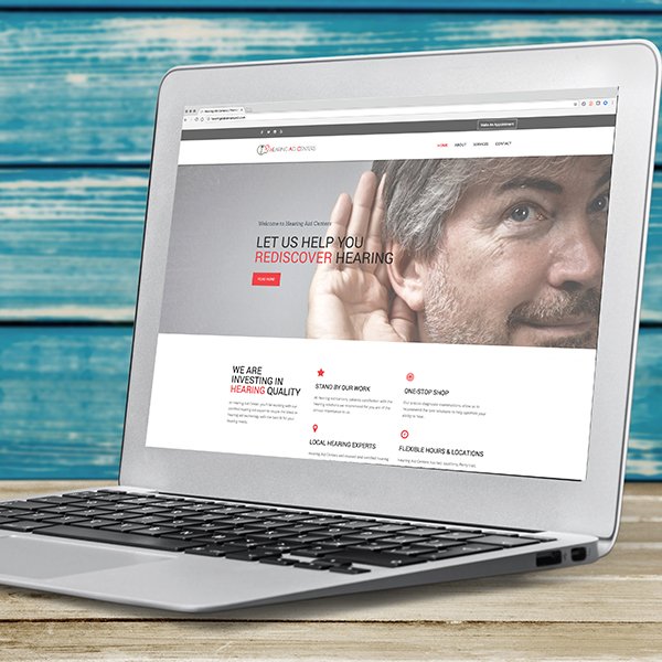Hearing Aid Centers Website